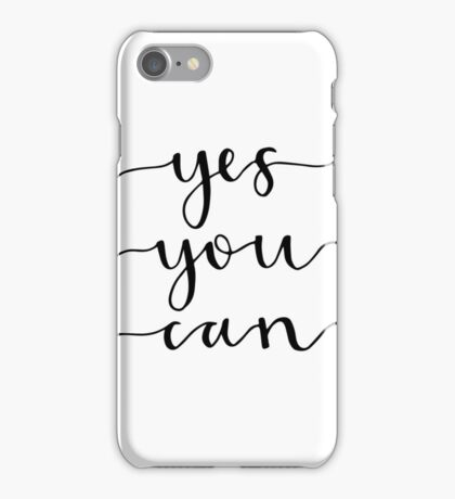 yes you can iPhone Case/Skin