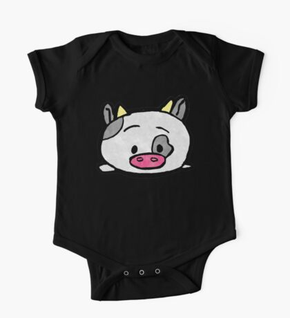 Cow One Piece - Short Sleeve