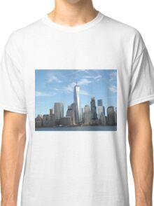 Lower Manhattan Skyline, New York City Classic T-Shirt