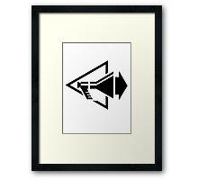 Depeche Mode : Stripped - Black Framed Print