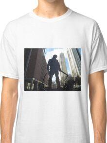 Welder Sculpture, Jersey City, New Jersey  Classic T-Shirt