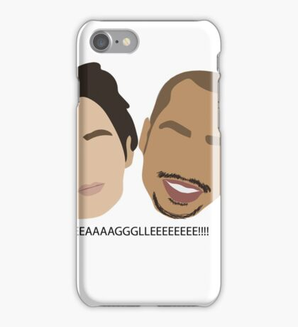 jd and turk  iPhone Case/Skin