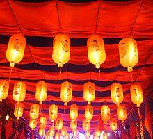 Hanging red lanterns.....大红灯笼高高挂。。。。 by freeze