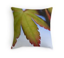 Maple Beginnings Throw Pillow