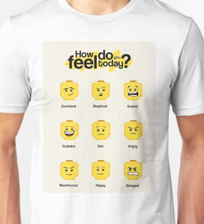 Lego feelings Unisex T-Shirt