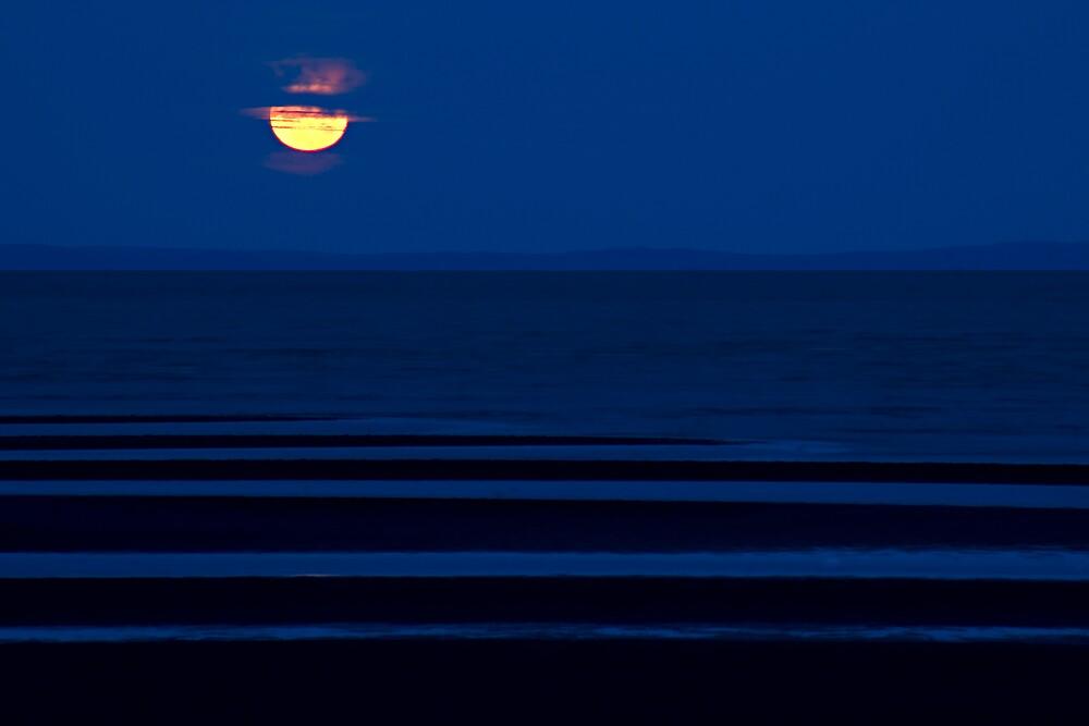 Brighton Moonrise by Judy Harland