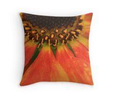 Petals on fire Throw Pillow