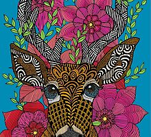 Steve the Stag by artlovepassion