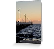 Shorncliffe Pier, Queensland Greeting Card