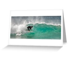 Dicky Beach Surfer Greeting Card
