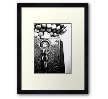 Penny Slots Framed Print