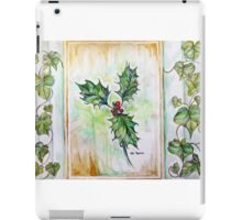 The holly and the ivy iPad Case/Skin
