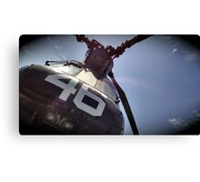 Dad's Chinook Helicopter CH-46 Canvas Print