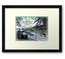 CHOICE Framed Print