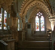 Rosslyn Chapel by blod