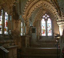 Rosslyn Chapel by blod
