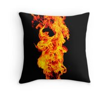 Universal Flame. Throw Pillow