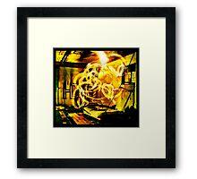 Epicentre Fire - Transmutation Framed Print