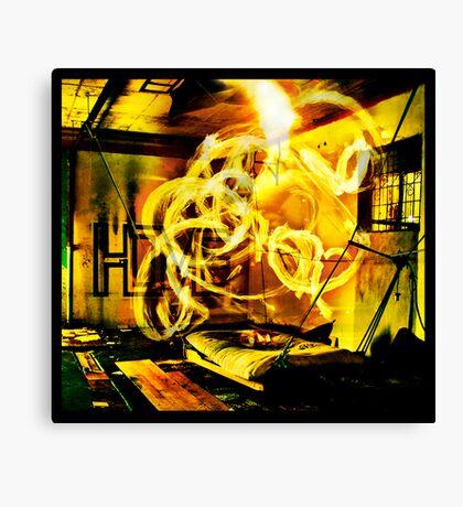 Epicentre Fire - Transmutation Canvas Print