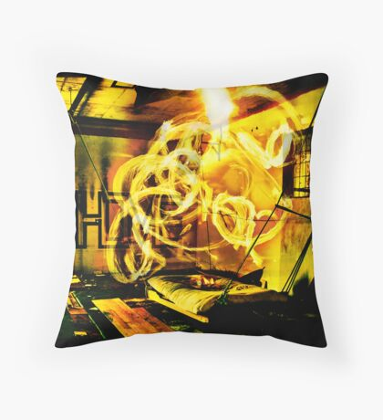 Epicentre Fire - Transmutation Throw Pillow