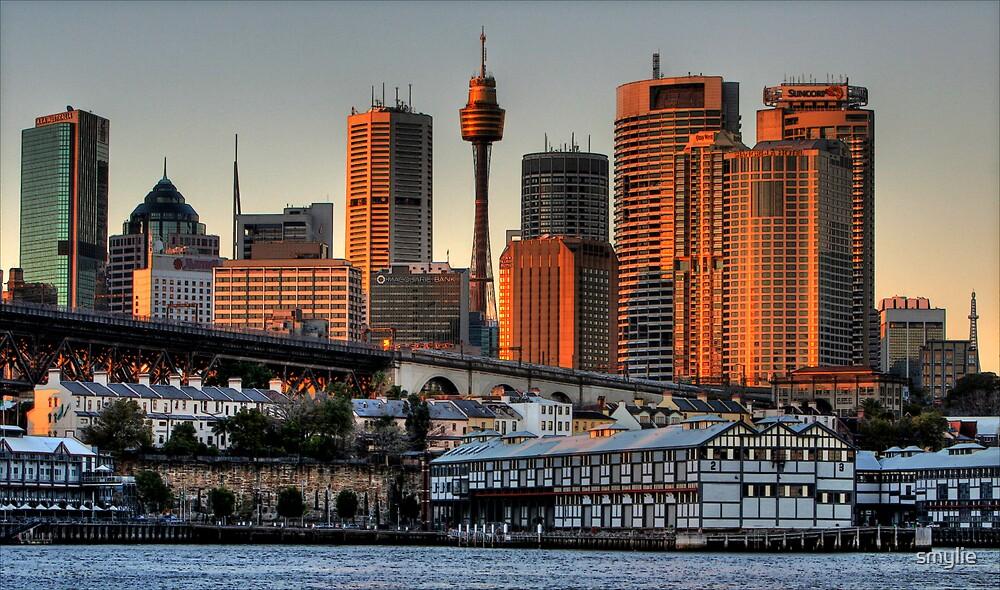Sydney Skyline by smylie