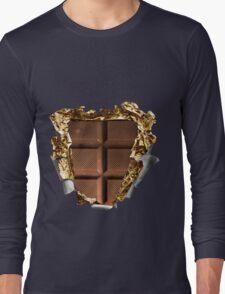 Chocolate Bar Sixpack Long Sleeve T-Shirt