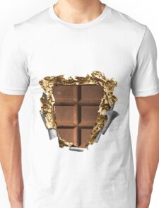 Chocolate Bar Sixpack Unisex T-Shirt