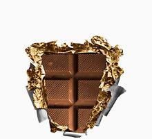 Chocolate Bar Sixpack Mens V-Neck T-Shirt