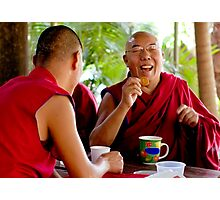Laughing Buddha Photographic Print