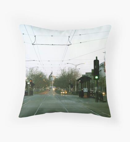 Serenity @ Tram Trek Throw Pillow