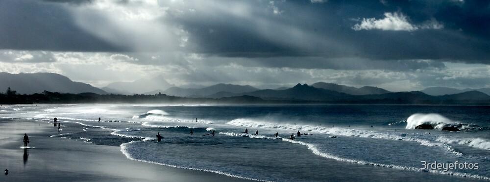 Byron Beach Winter Landscape by 3rdeyefotos