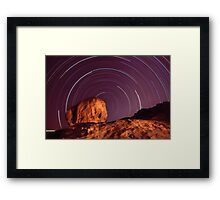 in a spin... Nth Qld Framed Print