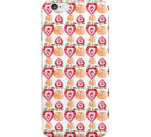 strawberry and apple pattern iPhone Case/Skin