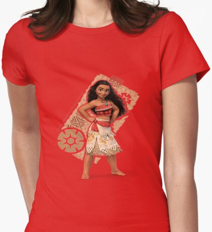 Moana Womens Fitted T-Shirt