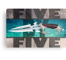 5 by 5 - Faith - Buffy the Vampire Slayer Metal Print