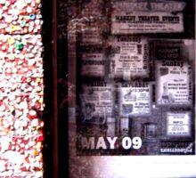Gumstruck Alley Sticker