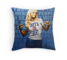 America, Fuck Yeah! Throw Pillow