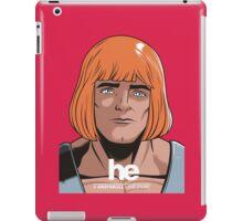 HE iPad Case/Skin