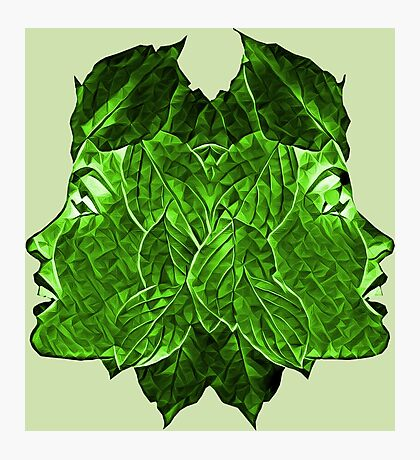 GREEN LEAF GIRLS Photographic Print