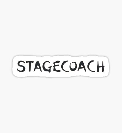 Stagecoach Logo Sticker