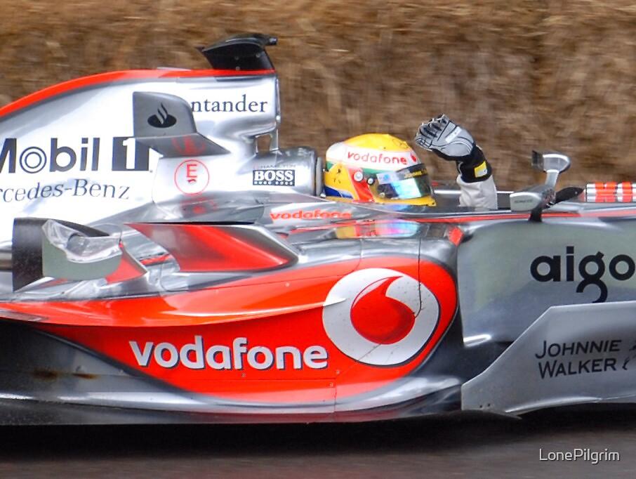 Lewis Hamilton by LonePilgrim