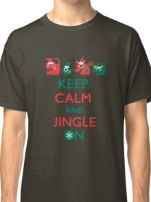 Keep Calm and Jingle On Classic T-Shirt