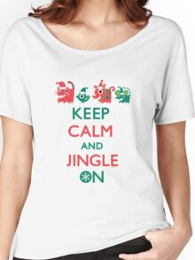 Keep Calm and Jingle On Women's Relaxed Fit T-Shirt