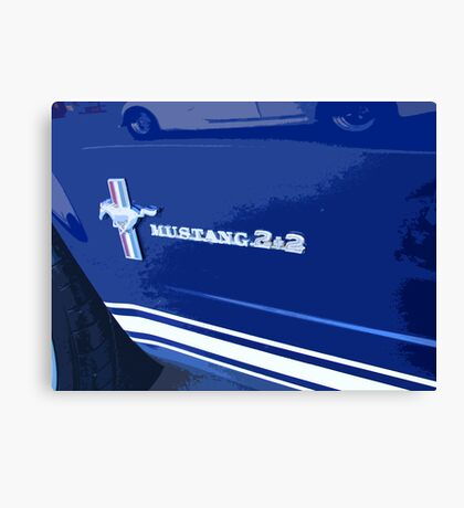 Great cars Canvas Print