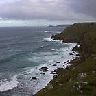 Stormy skies at Lands End by cappa