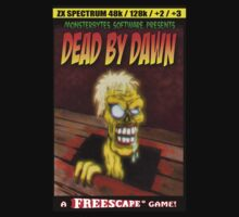 Dead by Dawn ZX Spectrum Game Inlay Art (official) by Malcolm Kirk