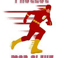 Fastest Man Alive! by NotNowJordan