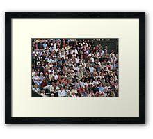Williams vs Sharapova Framed Print