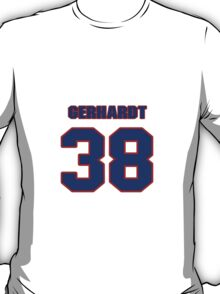National baseball player Rusty Gerhardt jersey 38 T-Shirt