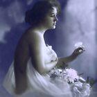 blue lady by cynthiab